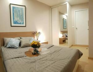 For RentCondoOnnut, Udomsuk : 🔥🔥Hot Deal!🔥🔥For Rent The Tree Onnut Station 1 bedroom 8th floor near BTS On Nut.[Code:A105]
