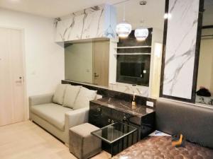 For RentCondoRama9, RCA, Petchaburi : For rent  Life Asoke  - Studio, size 24 sq.m., Beautiful room, fully furnished.