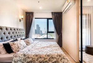 เช่าคอนโดพระราม 9 เพชรบุรีตัดใหม่ : Life Asoke for Rent : 1 Bed Plus 35 ตร.ม. ห้องใหม่ Build-in ทั้งห้อง วิวสวยมาก