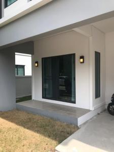 For RentHouseBangbuathong, Sainoi : BH880 2-storey house for rent, 3 bedrooms, 3 bathrooms, Modi Villa Chaiyapruek Village, Bang Bua Thong District, Nonthaburi Province