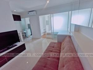 For RentCondoRama9, RCA, Petchaburi : RENT !! Condo Lumpini Place, MRT Rama 9, 1 Bed, B Bl., 17 Fl., Area 37 sq.m., Rent 10,000 .-