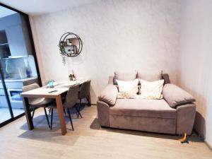 For RentCondoSukhumvit, Asoke, Thonglor : For rent Rhythm Ekkamai  1Bed, size 35 sq.m., Beautiful room, fully furnished.