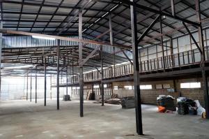 For RentWarehouseRathburana, Suksawat : BS673 Warehouse for rent Usable area 1,300 sq m., Suksawat district, Chom Thong district
