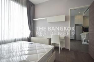 For SaleCondoRama9, RCA, Petchaburi : Q Asoke is sold with tenants! Luxury condo, very good price, 6.7 million baht, 38Sqm, 1 bedroom, 1 bathroom, high floor, near MRT Phetchaburi