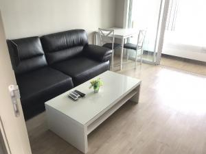 For RentCondoThaphra, Wutthakat : (For rent) Condo The Tempo Grand Sathorn-Wutthakat 1 bedroom, 1 bathroom, size 31 sqm., 12th floor, south facing, canal + garden view, fully furnished. Ready to move in
