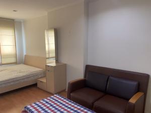 For RentCondoRamkhamhaeng, Hua Mak : For rent, Condo Lumpini Ville Ramkhamhaeng 44, size 33 sqm, 11th floor, fully furnished, electricity 7000 baht