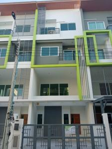 For RentTownhouseRama 2, Bang Khun Thian : (For Rent)Townhome 3 bedrooms (never lived) Astera Bless Rama 2 near the expressway