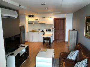 For RentCondoRama3 (Riverside),Satupadit : Condo Resorta Yen-akat @Central Rama III, 42.19 sq.m 1 Bedroom 7th floor, Fully furnished