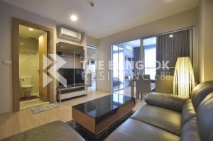 For SaleCondoRatchadapisek, Huaikwang, Suttisan : Very good price Rhythm Ratchada-Huaykwang for sale only 3.9 million baht, 36 sq.m., 1 bedroom, 1 bathroom, next to MRT Huai Khwang.