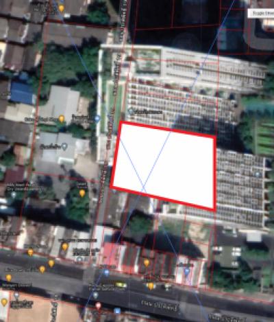 For SaleLandSapankwai,Jatujak : Land for sale, Soi Pradiphat 19, 440 square wah (the owner sells by himself).