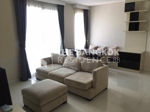 For RentCondoRama9, RCA, Petchaburi : Villa Asoke for rent very cheap 38,000 baht per month 80Sqm 1 bedroom 2 bathroom near MRT Phetchaburi