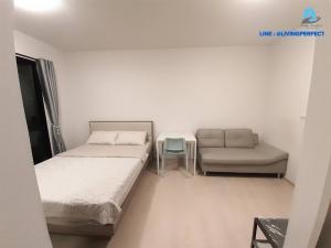 For RentCondoBangna, Lasalle, Bearing : Condo for rent Unio Sukhumvit 72, new room, near BTS Bearing station