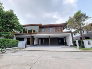 For RentHousePattanakan, Srinakarin : (Available) Single house for rent Burasiri Phatthanakan, 4 bedrooms, 5 bathrooms, 4 parking spaces