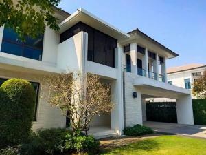 For SaleHouseRattanathibet, Sanambinna : Code C3985 2 storey detached house for sale, Ladawan Village, Rattanathibet, near MRT Bang Rak Noi Tha It