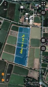ขายที่ดินฉะเชิงเทรา : ขายที่ดินเปล่า  14 ไร่ 1 งาน 14  ตารางวา ติดถนนซอย องค์การบริหารส่วนตำบลบางพระ  อ.เมือง  ฉะเชิงเทรา
