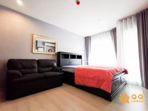 For SaleCondoRama9, Petchburi, RCA : For Sale   Rhythm Asoke  Studio , size 22 sq.m., Beautiful room, fully furnished.
