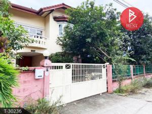 For SaleHouseRamkhamhaeng,Min Buri, Romklao : House for sale, Flora Ville Suwinthawong, Soi Suwinthawong 38, Bangkok