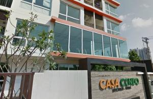 For RentCondoThaphra, Wutthakat : Line ID :@n4898 (with @ too) Casa Condo Ratchada Thapra, ready to move in, 40 sqm, starting price 11500 baht