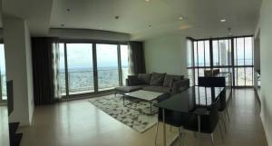 For SaleCondoWongwianyai, Charoennakor : Condo for sale The River, Charoen Nakhon Road, 59th floor, river view / Peninsula