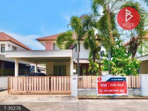 For SaleTownhousePattaya, Bangsaen, Chonburi : House for sale Country Park Bang Saen 3, Huay Kapi, Chonburi