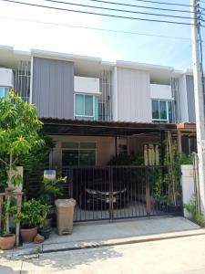For SaleTownhouseRama 2, Bang Khun Thian : 3 bedroom townhome for sale City Sense Rama 2 - Tha Kham, Tha Kham, Bang Khun Thian