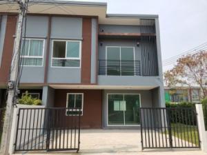 For SaleTownhouseBangbuathong, Sainoi : Sale Townhome The Rich Ville Ratchapruek - Rattanathibet 139 sq m. 31.58 sq m.