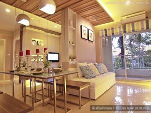For SaleCondoPattaya, Bangsaen, Chonburi : Condo for sale, Pattaya, Jomtien Condo Lumpini Park Beach Jomtien, only one room, 1 bedroom, size 32.80 square meters, excellent location, excellent location, sea view condo, great value, condo next to Jomtien Beach, Lumpini Park K Beach Jomtien, 900 m. F
