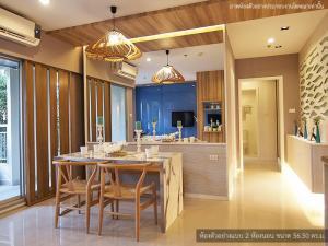 For SaleCondoPattaya, Bangsaen, Chonburi : Condo for sale next to Jomtien Beach, Pattaya Condo Lumpini Park Beach Jomtien 2 bedrooms 71.31 square meters, excellent location, excellent location, great value, Condo Chonburi, Pattaya, Bangsaen, Sriracha, 900 m. From Sukhumvit Road