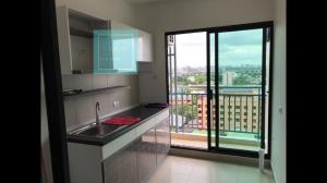For RentCondoChengwatana, Muangthong : For rent Supalai Loft Chaengwattana only 7,000 baht / month, 11th floor.