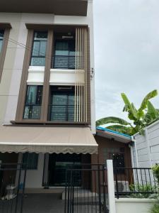 เช่าทาวน์เฮ้าส์/ทาวน์โฮมท่าพระ ตลาดพลู : เช่า บ้านกลางเมืองกัลปพฤกษ์ หลังมุม