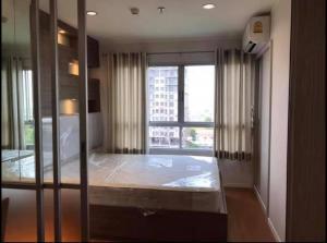 For RentCondoRattanathibet, Sanambinna : JSN519 Condo for rent, Lumpini Park Rattanathibet-Ngamwongwan, room size 26 sq m. Building A, 14th floor, beautiful room.