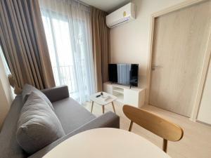 For RentCondoChengwatana, Muangthong : C1082 New condo for rent, Nue noble Chaengwattana, 1 bedroom, next to BTS, next to Makro Chaengwattana.