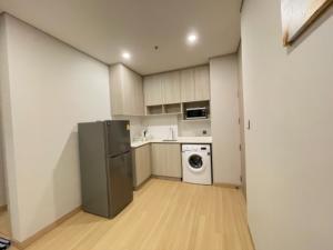For RentCondoRatchathewi,Phayathai : Lumpini Suite Din Daeng Ratchaprarop, 2 bedrooms, 1 bath, 19th floor, beautiful view, fully furnished. Cheap rental