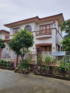 For RentHouseNakhon Pathom, Phutthamonthon, Salaya : RH545 House for rent, 2 floors, 51 sq m., 3 bedrooms, 2 bathrooms, Baan Parichart Pinklao, near Mahidol Salaya