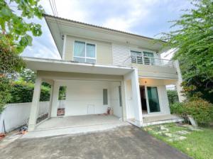For SaleHouseBangbuathong, Sainoi : Beautiful single house for sale, good price, Chaiyapruek, Rattanathibet, Ring Road 135 sq m, 56.5 sq m, price only 4.5 million.