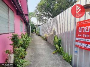 ขายบ้านสำโรง สมุทรปราการ : ขายบ้านเดี่ยว 2 ชั้น (บ้านไม้ สร้างเอง) พระประแดง สมุทรปราการ