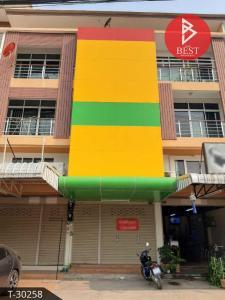 ขายตึกแถว อาคารพาณิชย์เชียงใหม่ : ขายอาคารพาณิชย์ 4 ชั้น ย่านชุมชน ตำบลช้างคลาน เชียงใหม่