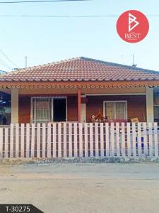For SaleHouseChachoengsao : Selling a twin house, Sirarom 12 village, Bang Pakong (Sirarom12 Bangpakong), Chachoengsao.