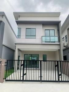 For RentTownhouseRamkhamhaeng,Min Buri, Romklao : BH888 2-storey townhouse for rent, The Plant Ramkhamhaeng-Wongwaen project. Rom Klao Housing Road, Saphan Sung District