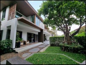 For RentHousePattanakan, Srinakarin : LBH0037 Single house for rent Burasiri Pattanakarn, fully furnished.