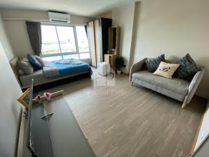 For RentCondoRangsit, Patumtani : For rent, studio room, 24 sqm., B Condo Phaholyothin project