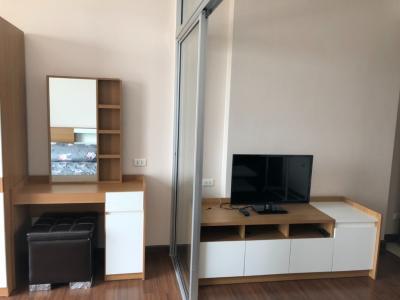 For RentCondoSathorn, Narathiwat : 2130-A😊 For RENT Studio room for rent near MRT Surasak 🏢 Supalai Lite Sathorn-Charoenrat Supalai Lite Sathorn - Charoenrat🔔 Area: 35.00 sq.m. ตร.ม. Rent: 11,500 ฿ 📞O86-454O477, O99- 5919653✅LineID: @sureresidence