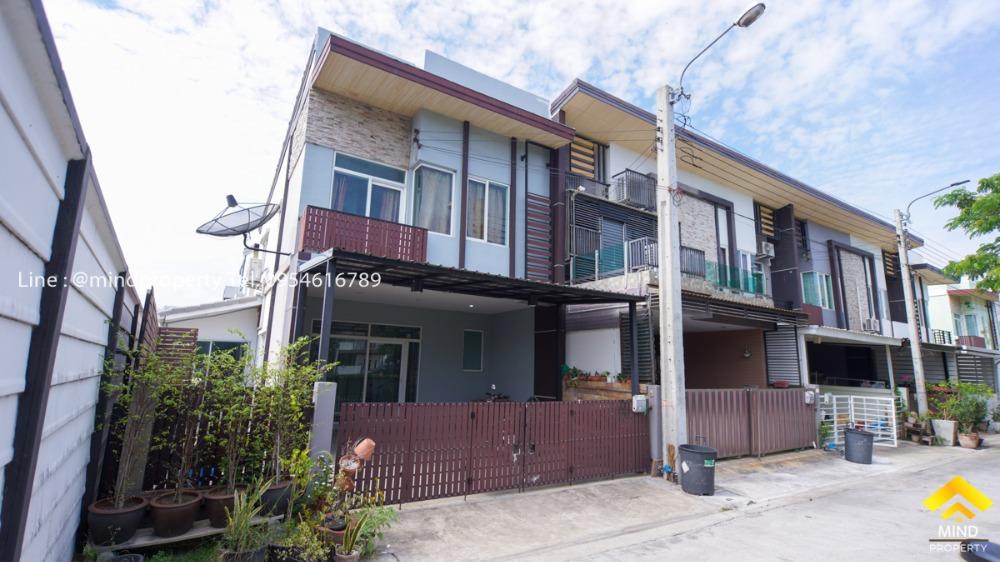 For SaleHouseRamkhamhaeng,Min Buri, Romklao : ขายด่วนทาวน์โฮม 2 ชั้น หมู่บ้านกัสโต้ รามคำแหง ซอยมิสทีน หลังมุม หน้าสวน ใกล้ทางด่วนกาญจนาภิเษก