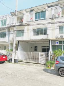 For SaleTownhouseRama5, Ratchapruek, Bangkruai : 3-storey townhome for sale, The Terrace Tiwanon, 3 bedrooms, 4 bathrooms.