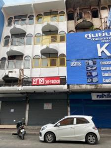 For SaleShophouseVipawadee, Don Mueang, Lak Si : Commercial building for sale, 1 booth, 4 floors, Soi Chaengwattana 10 Opposite the Laksi District Office