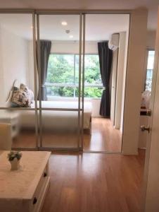 For RentCondoOnnut, Udomsuk : For rent Lumpini Ville On Nut 46, 3rd floor, garden view.
