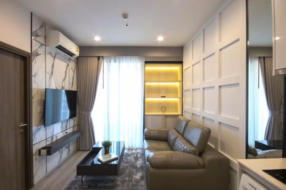 ขายคอนโดพระราม 9 เพชรบุรีตัดใหม่ : 🚨Sale New room IDEO Mobi Asoke, 1 bedroom, Luxury furnished. Near SWU.