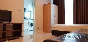 For RentCondoOnnut, Udomsuk : Rent Condo The Sky Sukhumvit Studio 1 bathroom 4th floor size 25.04 sq.m.