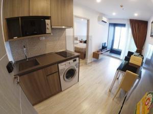 For RentCondoBang Sue, Wong Sawang : Big room, great value !! 34 sq m, 12,500 baht / month #Ideo Mobi Bangsue Grand Interchange