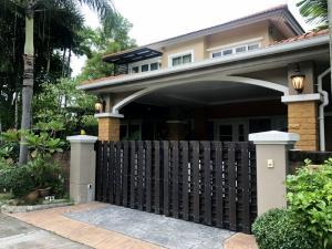 เช่าบ้านพัฒนาการ ศรีนครินทร์ : ให้เช่าบ้านเดี่ยว โครงการ คาซ่าวิลล์ ศรีนครินทร์ Casa Ville Srinakarin ตกแต่งหรูหรร่มรื่น ใกล้เมกกะบางนา ถนนศรีนครินทร์ บางนา-ตราด บางพลี สมุทรปราการ